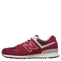 New Balance 美國慢跑鞋/跑步鞋推薦【EST S】NEW BALANCE ML574FBR 麂皮 奶油底 網布 復古 慢跑鞋 男女鞋 紅 [SPO-NB-ML574FBR] G0302