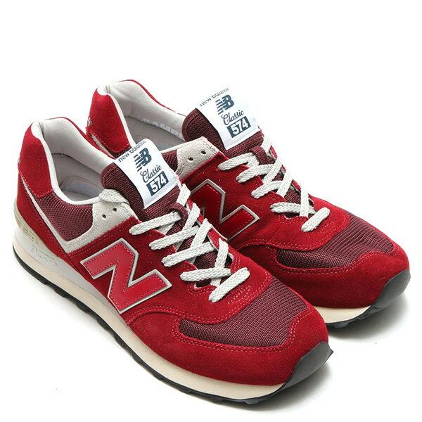 【EST S】New Balance ML574FBR 麂皮 奶油底 網布 復古 慢跑鞋 男鞋 紅 G1018 2