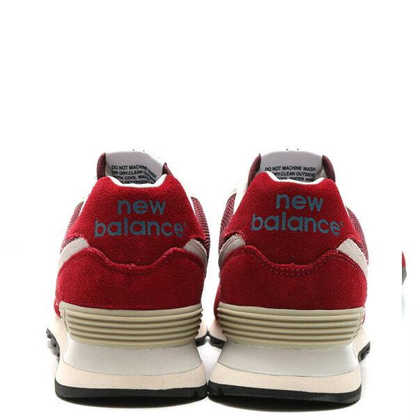 【EST S】New Balance ML574FBR 麂皮 奶油底 網布 復古 慢跑鞋 男鞋 紅 G1018 3