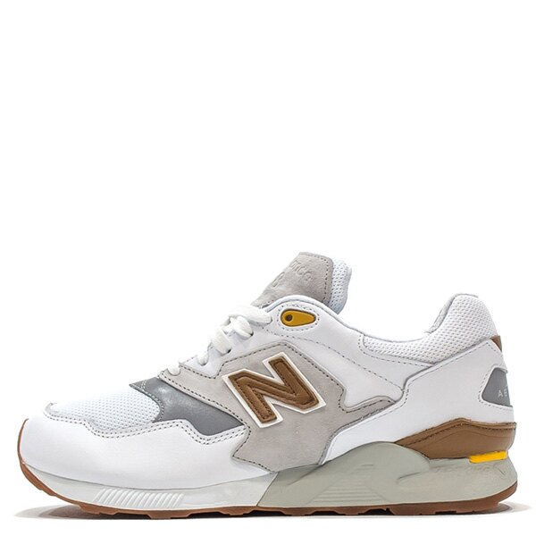 【EST S】New Balance ML878ATA 麂皮 膠底 反光 慢跑鞋 男鞋 白 G1018 0