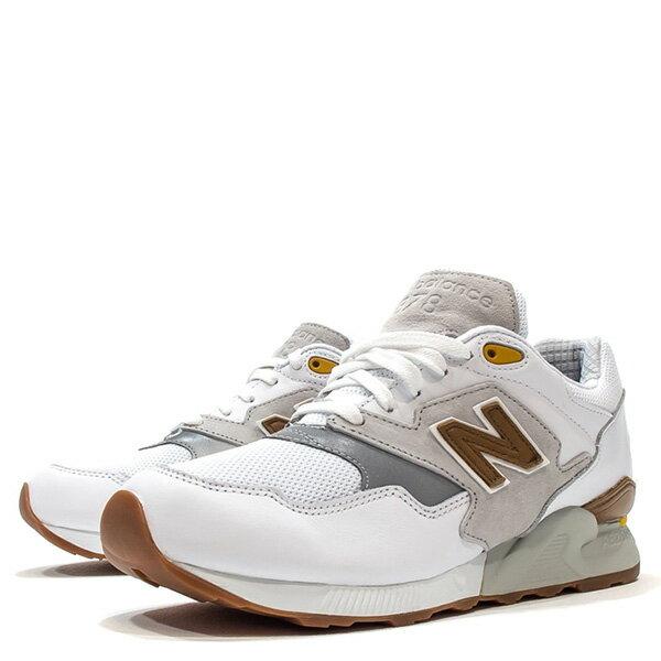 【EST S】New Balance ML878ATA 麂皮 膠底 反光 慢跑鞋 男鞋 白 G1018 1