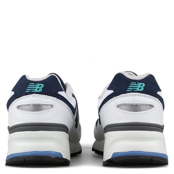 【EST S】NEW BALANCE ML999LUC 皮革 網布 反光 慢跑鞋 男鞋 白 G1018 2