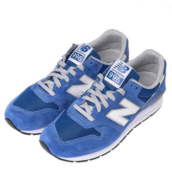 【EST S】NEW BALANCE MRL996KC 麂皮 復古 慢跑鞋 男鞋 藍 G1018 1