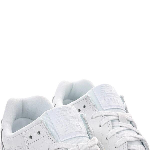 【EST S】NEW BALANCE MRL996MF 皮革 鱷魚紋 復古 慢跑鞋 男鞋 白 G1018 3