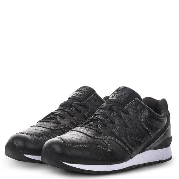 【EST S】NEW BALANCE MRL996MG 皮革 鱷魚紋 復古 慢跑鞋 男鞋 黑 G1018 1