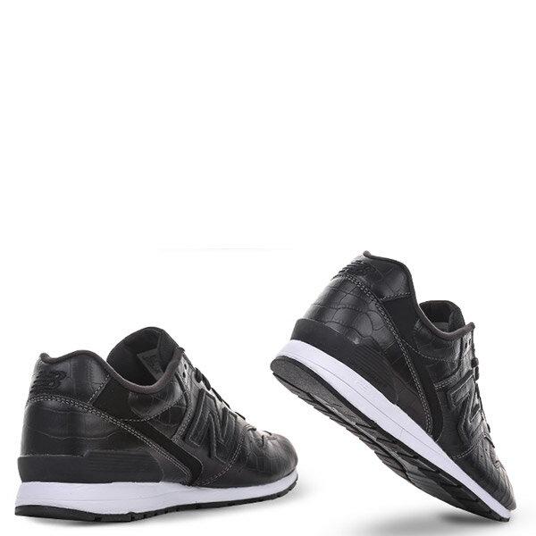【EST S】NEW BALANCE MRL996MG 皮革 鱷魚紋 復古 慢跑鞋 男鞋 黑 G1018 2