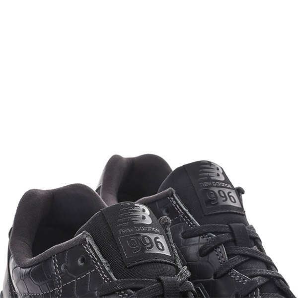 【EST S】NEW BALANCE MRL996MG 皮革 鱷魚紋 復古 慢跑鞋 男鞋 黑 G1018 3