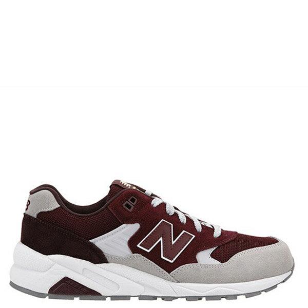 【EST S】NEW BALANCE MRT580LH 麂皮 網布 復古 慢跑鞋 男鞋 酒紅 G1018 0