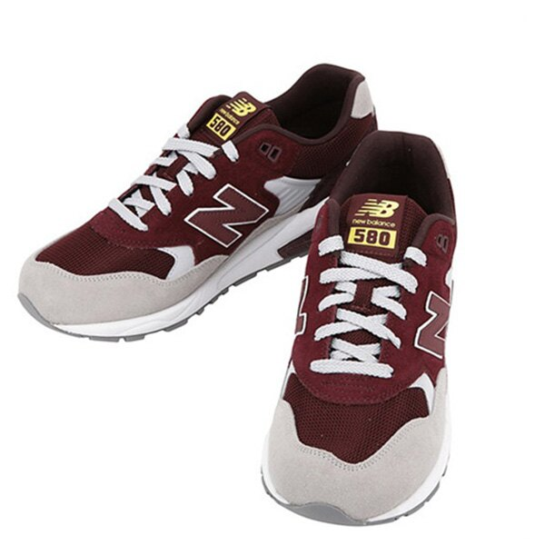 【EST S】NEW BALANCE MRT580LH 麂皮 網布 復古 慢跑鞋 男鞋 酒紅 G1018 1