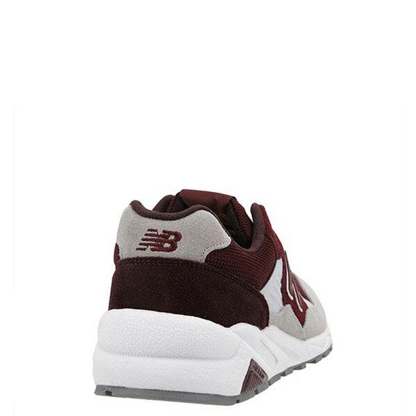 【EST S】NEW BALANCE MRT580LH 麂皮 網布 復古 慢跑鞋 男鞋 酒紅 G1018 3