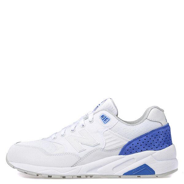【EST S】NEW BALANCE MRT580MJ 麂皮 彩虹鞋墊 復古 慢跑鞋 男鞋 白藍 G1018 0