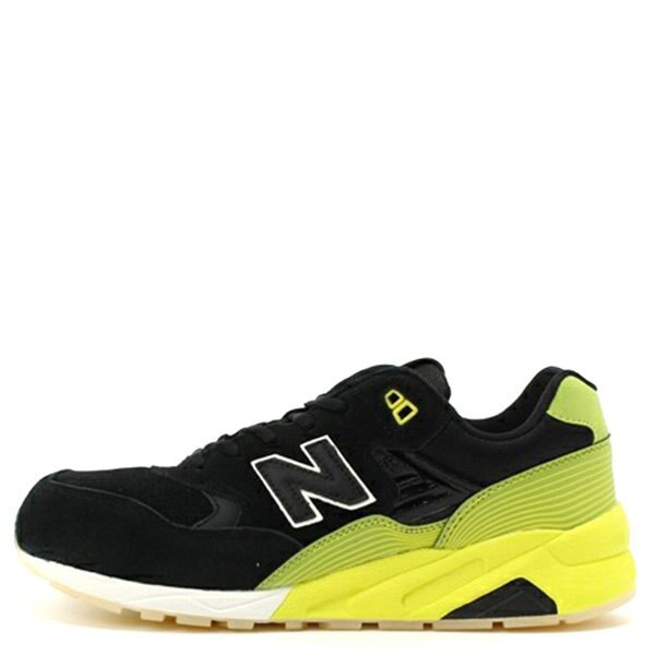 【EST S】NEW BALANCE MRT580UG 反光 果凍底 麂皮 慢跑鞋 男鞋 黑黃 G1018 0