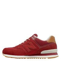 New Balance 美國慢跑鞋/跑步鞋推薦【EST S】New Balance 574系列 ML574NEC D楦 復古慢跑鞋 紅 男鞋 G1125
