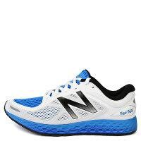 New Balance 美國慢跑鞋/跑步鞋推薦【EST S】New Balance MZANTHS2 2E寬楦 輕量避震慢跑鞋 白藍 男鞋 G1125