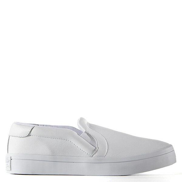 【EST S】ADIDAS WMNS COURTVANTAGE SLIP ON S75166 皮革 懶人鞋 女鞋 白 G0818
