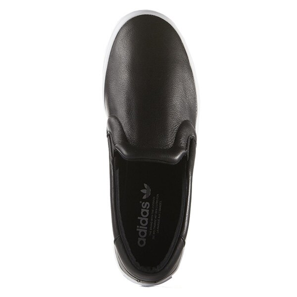 【EST S】Adidas Courtvantage Slip On S75167 皮革 懶人鞋 女鞋 黑 G0818 1