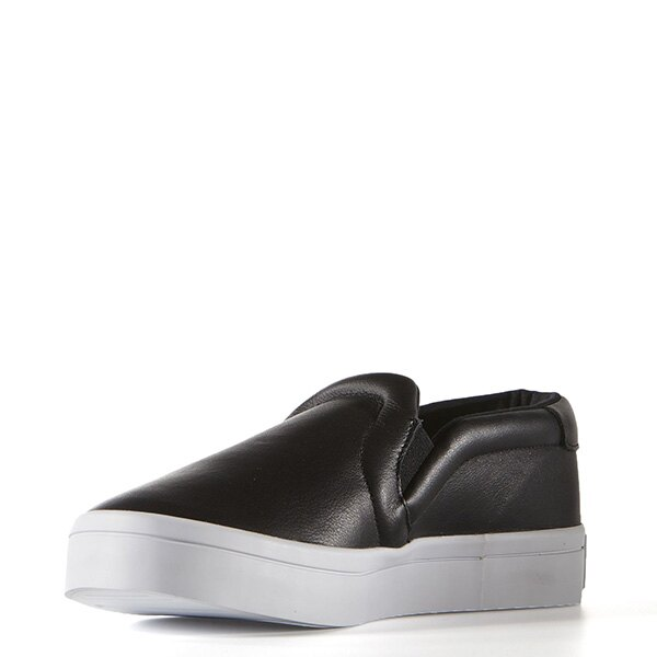 【EST S】Adidas Courtvantage Slip On S75167 皮革 懶人鞋 女鞋 黑 G0818 3