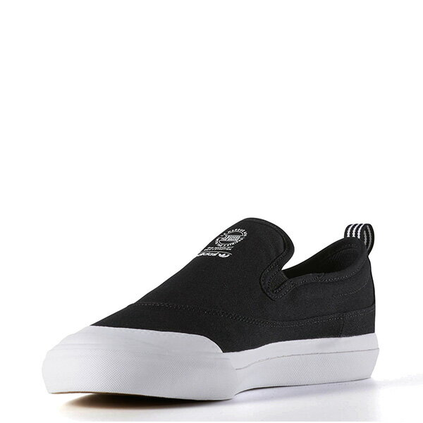 【EST S】ADIDAS WMNS COURTVANTAGE SLIP ON S75171 帆布 懶人鞋 女鞋 黑 G1018 3
