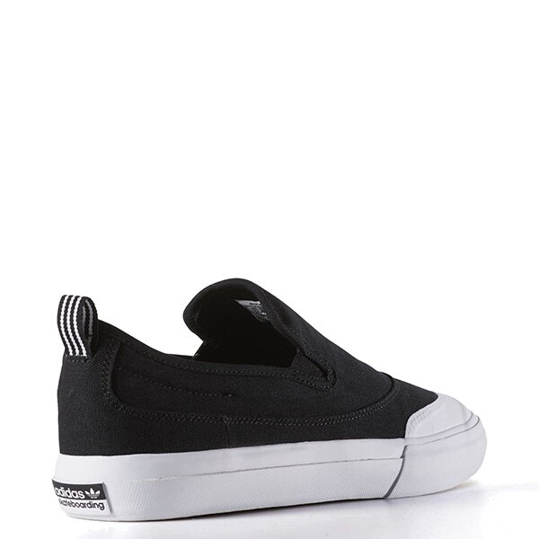 【EST S】ADIDAS WMNS COURTVANTAGE SLIP ON S75171 帆布 懶人鞋 女鞋 黑 G1018 4