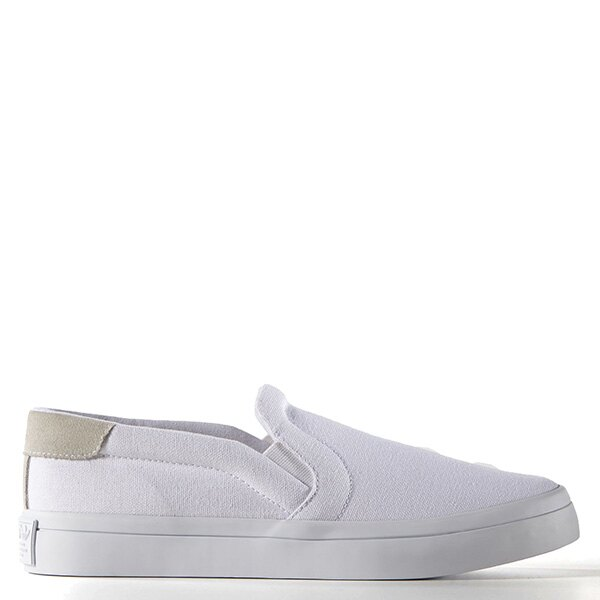 【EST S】ADIDAS WMNS COURTVANTAGE SLIP ON S75172 帆布 懶人鞋 女鞋 白 G1018 0