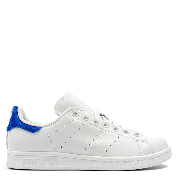 【EST S】Adidas Stan Smith S75559 史密斯 皮革 馬毛 休閒鞋 女鞋 白藍 G0818 0