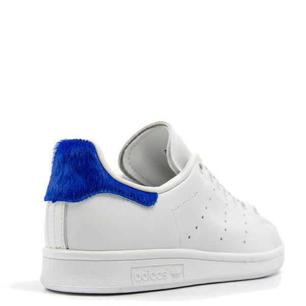 【EST S】Adidas Stan Smith S75559 史密斯 皮革 馬毛 休閒鞋 女鞋 白藍 G0818 1