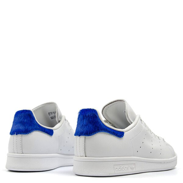 【EST S】Adidas Stan Smith S75559 史密斯 皮革 馬毛 休閒鞋 女鞋 白藍 G0818 4