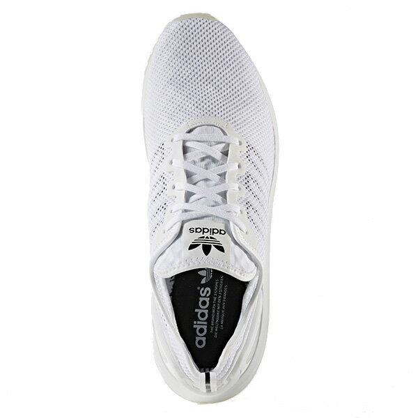 【EST S】Adidas Originals Zx Flux Adv Sl S76556 網布 無縫線 慢跑鞋 男女鞋 白 G1018 1
