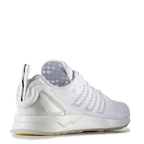 【EST S】Adidas Originals Zx Flux Adv Sl S76556 網布 無縫線 慢跑鞋 男女鞋 白 G1018 4
