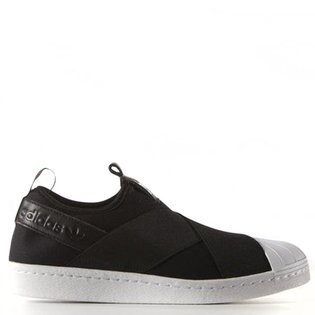 【EST S】ADIDAS ORIGINALS SUPERSTAR SLIP ON S81337 繃帶鞋 女鞋 黑白 G1018