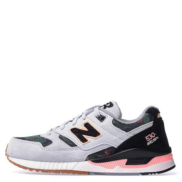 【EST S】NEW BALANCE W530MON 花卉 刺繡 麂皮 復古 慢跑鞋 女鞋 灰 [NB-SPO-W530MON] G0224 0