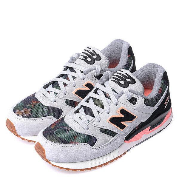 【EST S】NEW BALANCE W530MON 花卉 刺繡 麂皮 復古 慢跑鞋 女鞋 灰 [NB-SPO-W530MON] G0224 1