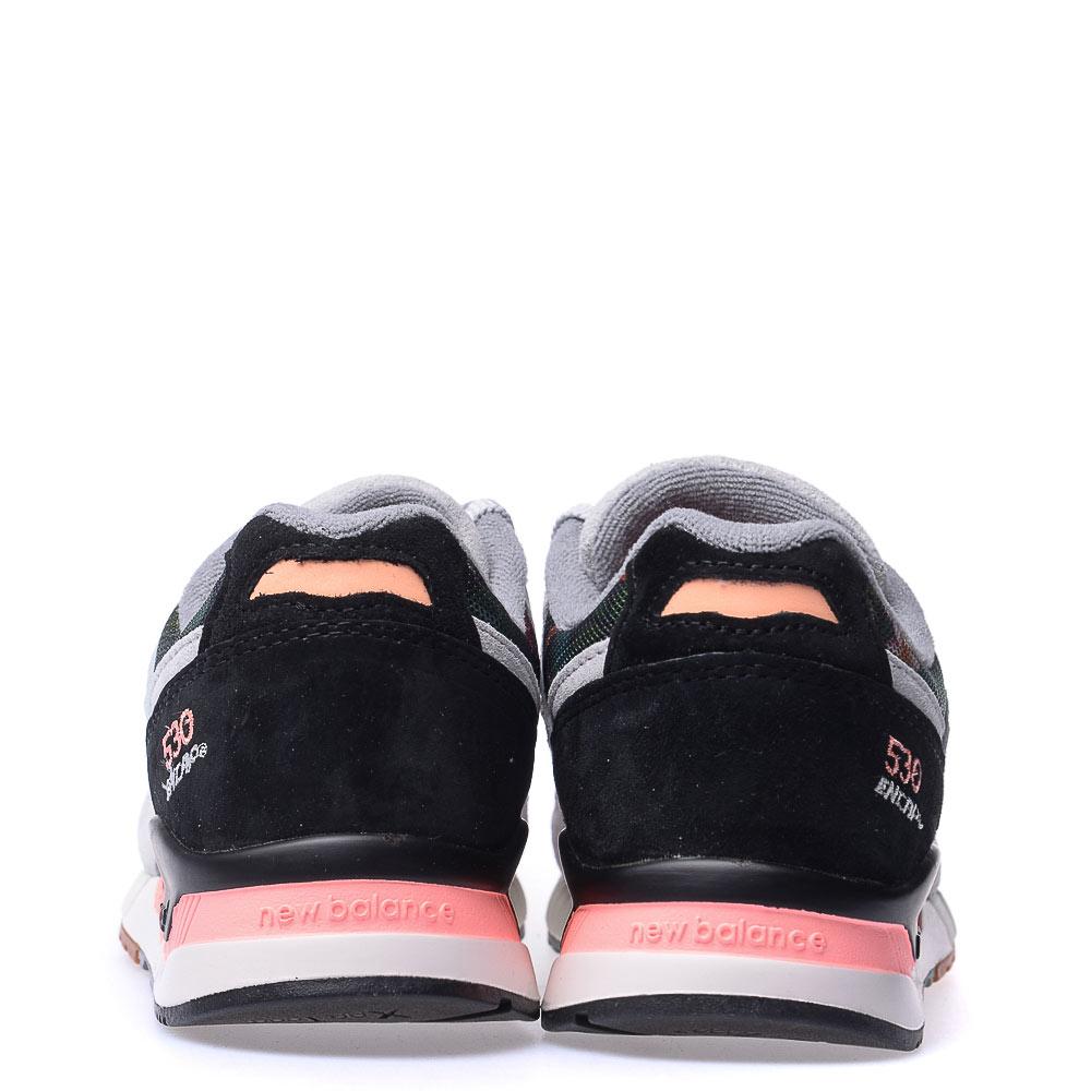 【EST S】NEW BALANCE W530MON 花卉 刺繡 麂皮 復古 慢跑鞋 女鞋 灰 [NB-SPO-W530MON] G0224 2