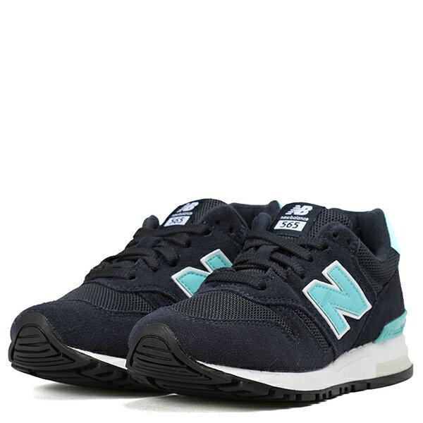 【EST S】NEW BALANCE WL565PN 麂皮復古 慢跑鞋 女鞋 B楦 藍綠 G1018 2