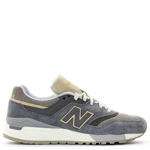 【EST S】New Balance WL997HWA 奶油底 英倫風 復古 慢跑鞋 女鞋 麻灰格紋 G1018 0
