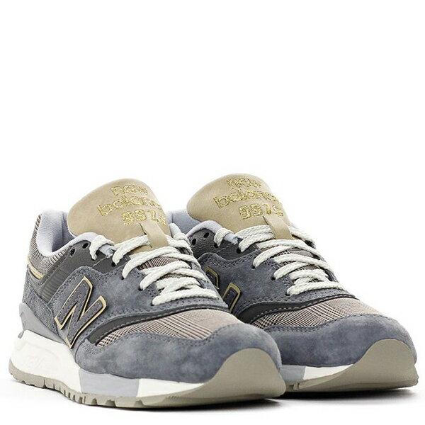 【EST S】New Balance WL997HWA 奶油底 英倫風 復古 慢跑鞋 女鞋 麻灰格紋 G1018 1