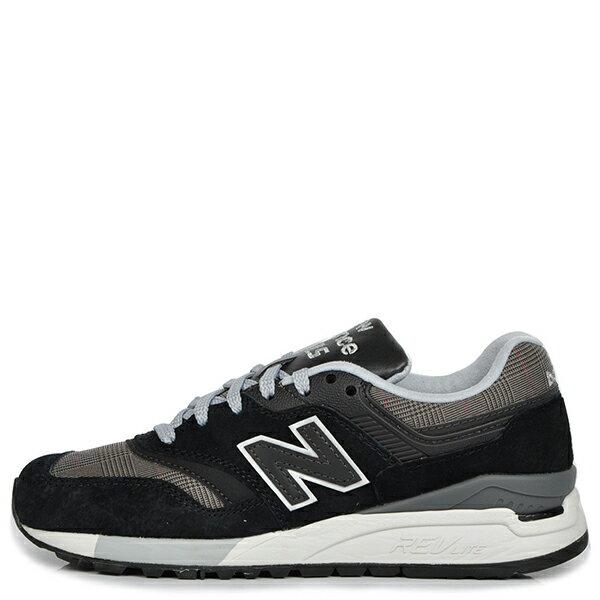 【EST S】NEW BALANCE WL997HWB 英倫風 復古 慢跑鞋 女鞋 黑灰格紋 G1018 0
