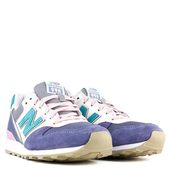【EST S】New Balance WR996HL 拚色 麂皮 復古 慢跑鞋 女鞋 藍 G1018 2