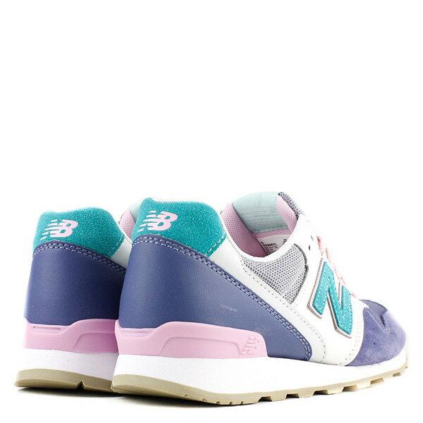 【EST S】New Balance WR996HL 拚色 麂皮 復古 慢跑鞋 女鞋 藍 G1018 3