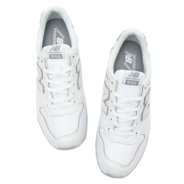 【EST S】NEW BALANCE WR996HP 珍珠皮革 麂皮 復古 慢跑鞋 女鞋 白 [NB-SPO-WR996HP] G0224 3