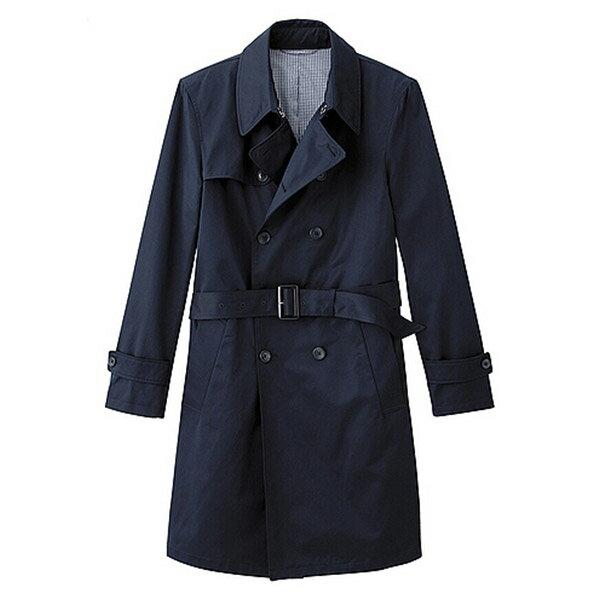 【EST O】UNIQLO × g.u. GU 腰帶 長版 外套 大衣 風衣 [266230] 深藍 S~XL F0903