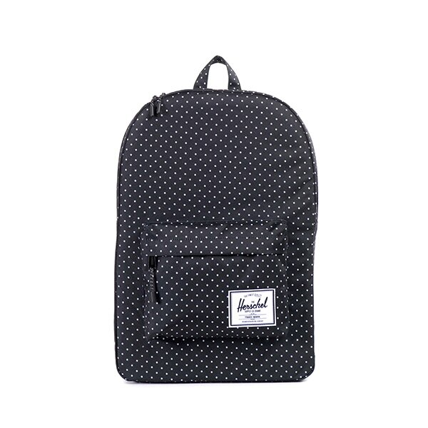 【EST】HERSCHEL CLASSIC 電腦包 後背包 點點 黑 [HS-0001-614] F0810 0
