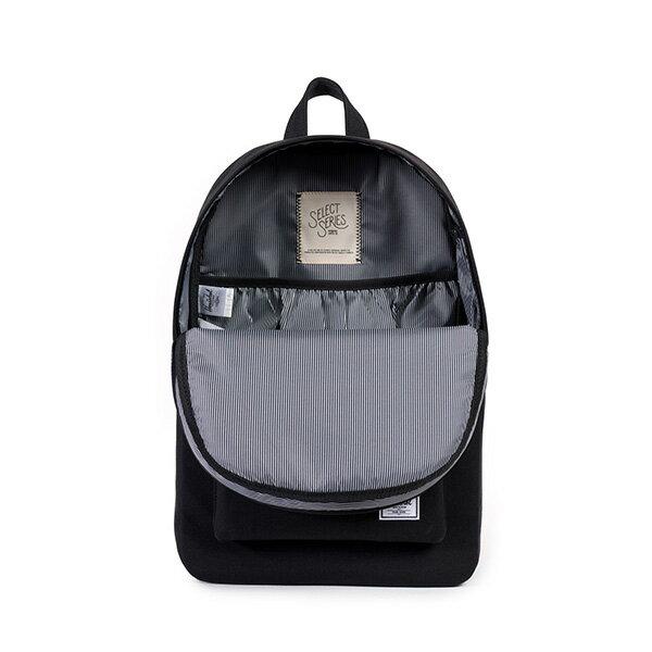 【EST】HERSCHEL HERITAGE 豬鼻 15吋電腦包 後背包 帆布 全黑 [HS-0007-562] F0810 1