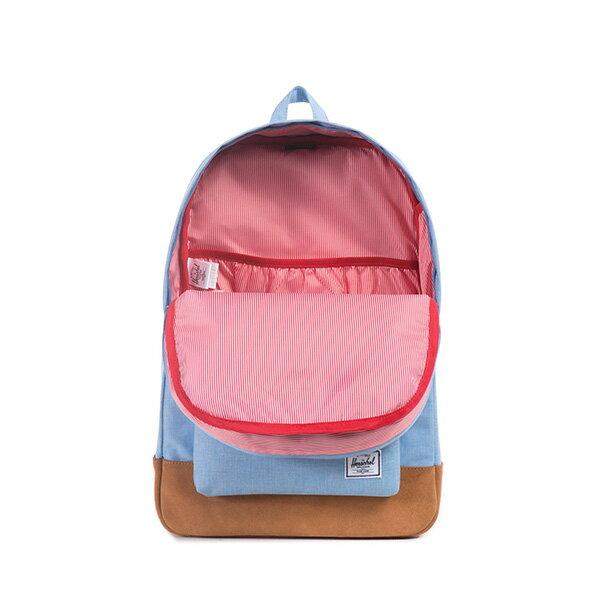 【EST】HERSCHEL HERITAGE 豬鼻 15吋電腦包 後背包 麂皮 淺藍 [HS-0007-627] F0810 1