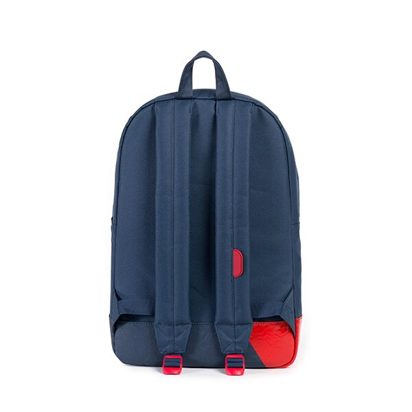 【EST】HERSCHEL HERITAGE 豬鼻 15吋電腦包 後背包 拚色 藍紅 [HS-0007-764] F0810 3