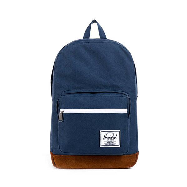 【EST】HERSCHEL POP QUIZ 15吋電腦包 後背包 麂皮 海軍藍 [HS-0011-199] F0810 0