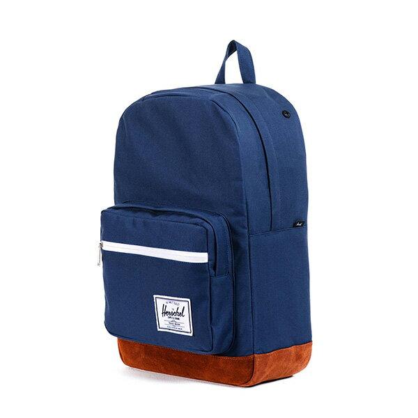 【EST】HERSCHEL POP QUIZ 15吋電腦包 後背包 麂皮 海軍藍 [HS-0011-199] F0810 2