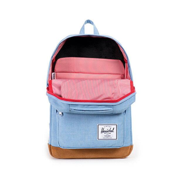 【EST】HERSCHEL POP QUIZ 15吋電腦包 後背包 麂皮 淺藍 [HS-0011-627] F0810 1