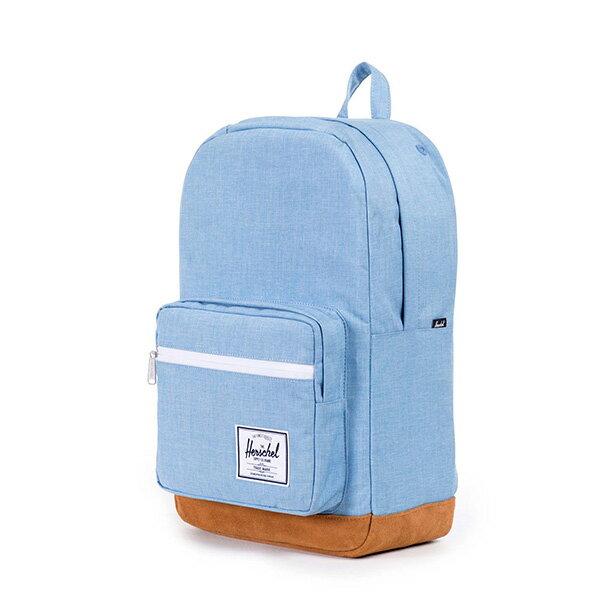 【EST】HERSCHEL POP QUIZ 15吋電腦包 後背包 麂皮 淺藍 [HS-0011-627] F0810 2