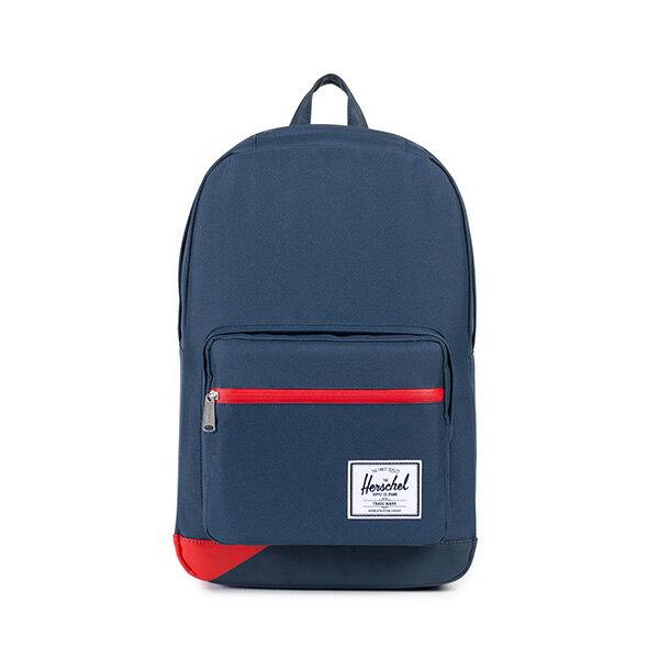【EST】HERSCHEL POP QUIZ 15吋電腦包 後背包 拚色 藍紅 [HS-0011-764] F0810 0